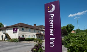 The Premier Inn in Bagshot, Surrey, has reopened after the coronavirus lockdown.