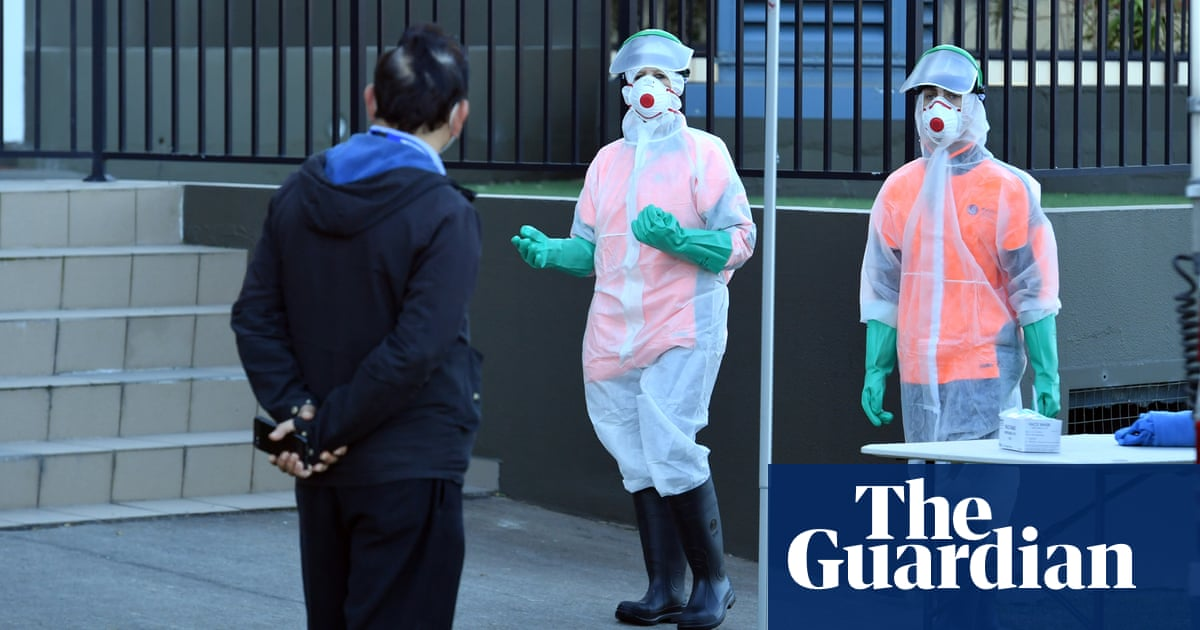 Sydney covid lockdown could last months as daily cases reach record high