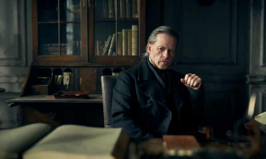 Guy Pearce as Scrooge in the BBC's latest adaptation of A Christmas Carol