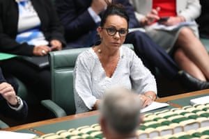 Shadow minister for Human Service Linda Burney during question time
