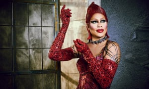 Laverne Cox as Dr Frank N Furter: not a target for hurled hotdogs.
