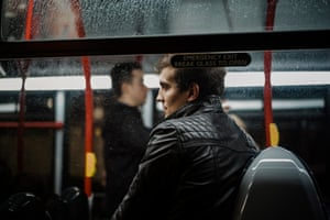 'And the reason I do it at night is that the people aren't commuters, they are travelling for a myriad of personal reasons, doing all types of journeys'