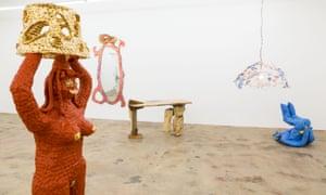 Katie Stout at the Nina Johnson Gallery.