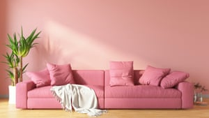 A pale but warm-toned colour – such as pink – work well in dark or north-facing rooms.