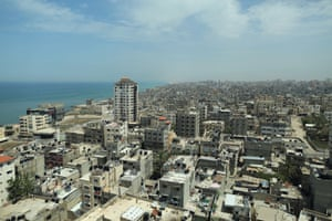 The beach is the only place where Gaza's residents can feel a sense of space