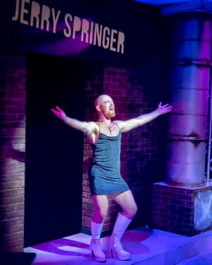A mirror for human behaviour? … Jerry Springer the Opera at Hope Mill theatre, Manchester.