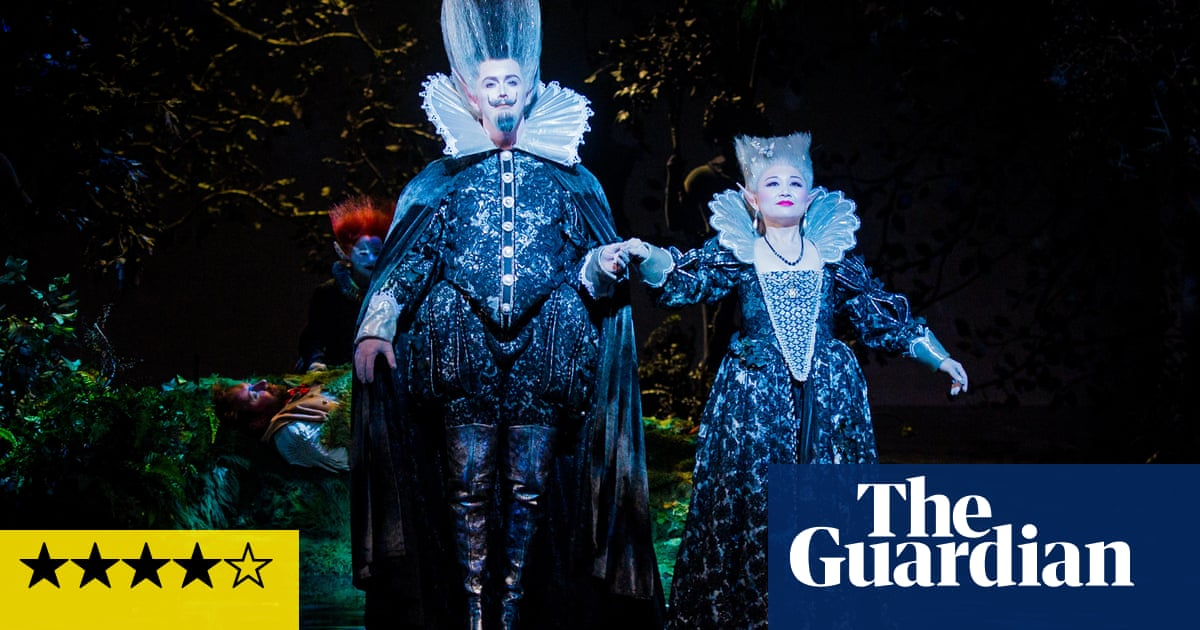 A Midsummer Nights Dream Review Peter Hall Revival Retains Its Magic