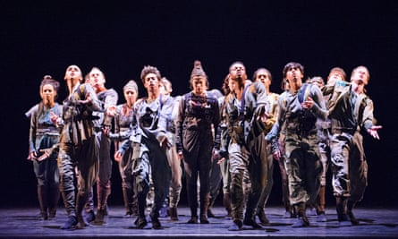 Untouchable by Hofesh Shechter at the Royal Opera House in 2015.
