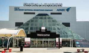 The London ExCel centre