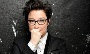 Leicester bound … Sue Perkins.