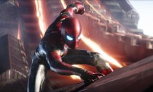 Spider-Man in Avengers: Infinity War.