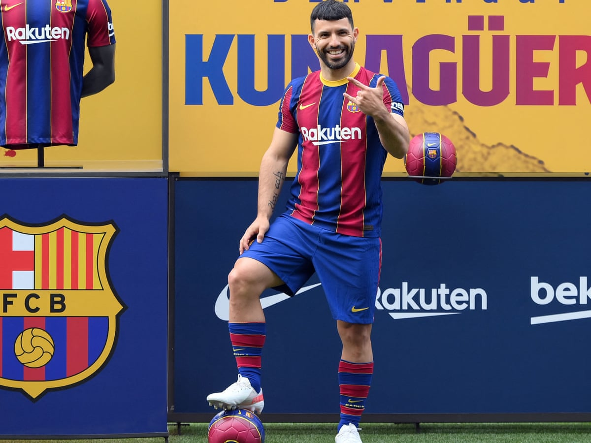 Barcelona confirm Agüero and García deals with Wijnaldum lined up to sign |  Barcelona | The Guardian