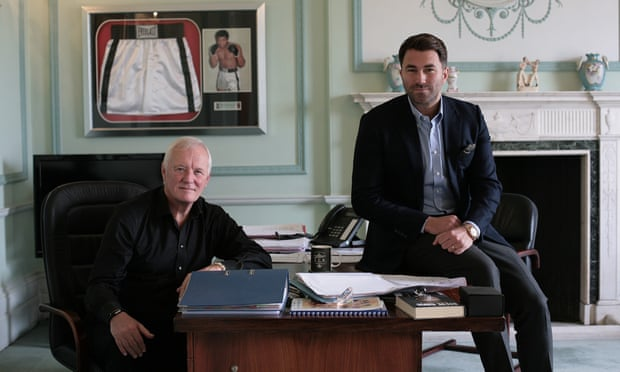 Barry and Eddie Hearn