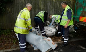 Street cleaning officers in the Kingstanding ward.
