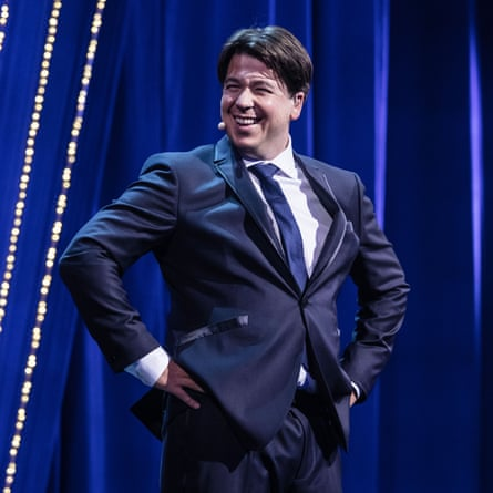 Comedians like Michael McIntyre are 'more likely to be talking about spice racks than politics'.