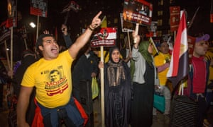 Anti-Sisi protesters