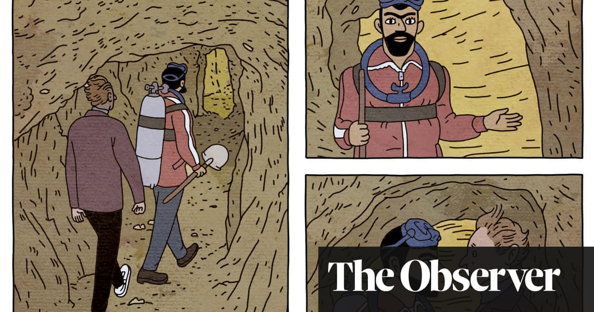 Tunnels by Rutu Modan review – Raiders of the Lost Ark meets Hergé