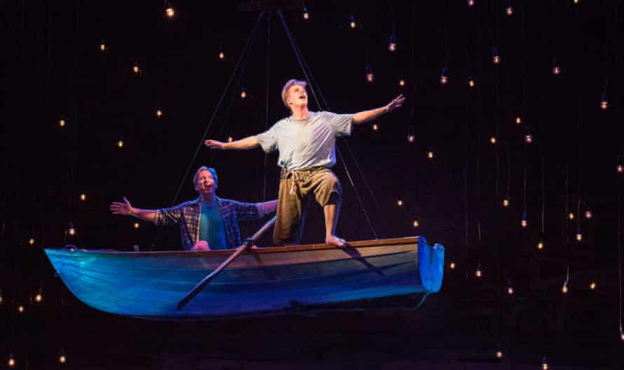 Nicholas Cannon and Nicholas Jones in the stage adaptation of Tim Winton's Cloudstreet