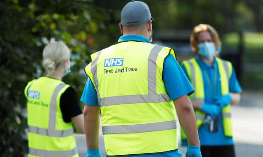 NHS Test-and-trace workers