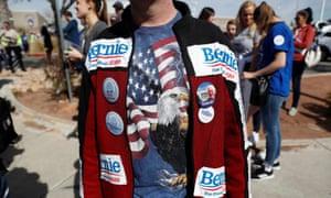 Bernie Sanders supporters during an early-voting event in Las Vegas last week.
