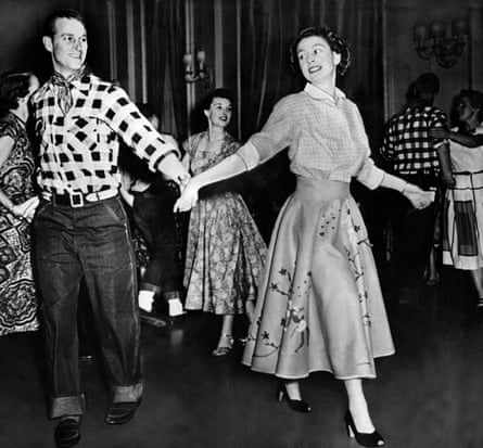 Cool cats Prince Philip and Queen Elizabeth boogie down to the sounds of the underground.