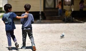Roma children in Italy