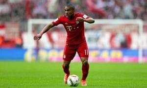 Bayern Munich's Douglas Costa