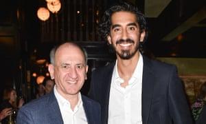 Dev Patel and Armando Iannucci.