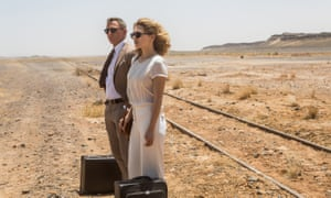 Daniel Craig and Lea Seydoux in Morocco, one of five known locations used to film Spectre.