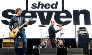 Shed Seven … acclaimed new album.