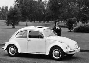 A VW Beetle in 1968.