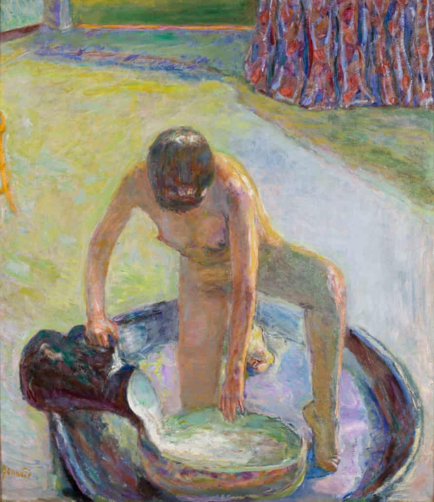 Nude Crouching in the Tub, 1918