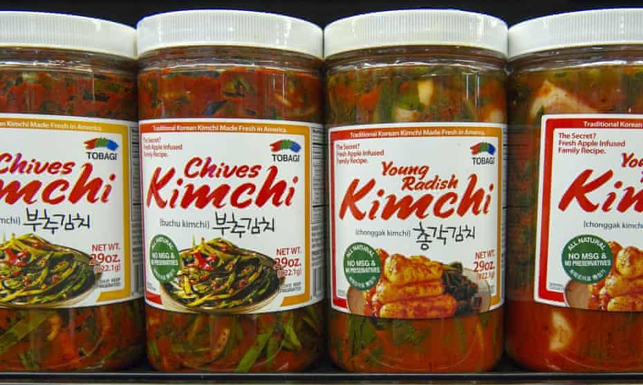 Kimchi, the 'spaghetti sauce of the east'.