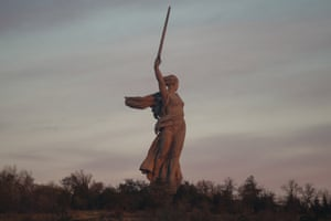 The Motherland Calls, Volgograd, Russia, Built in 1967 Authors: E. Vuchetich, N. Nikitin: A statue symbolising the Motherland calling her sons to fight the enemy. Volgograd (formerly Stalingrad) was the site of the largest and bloodiest confrontation of the Great Patriotic War (as WWII is known in Russia). The fierce battle was a turning point in the conflict.