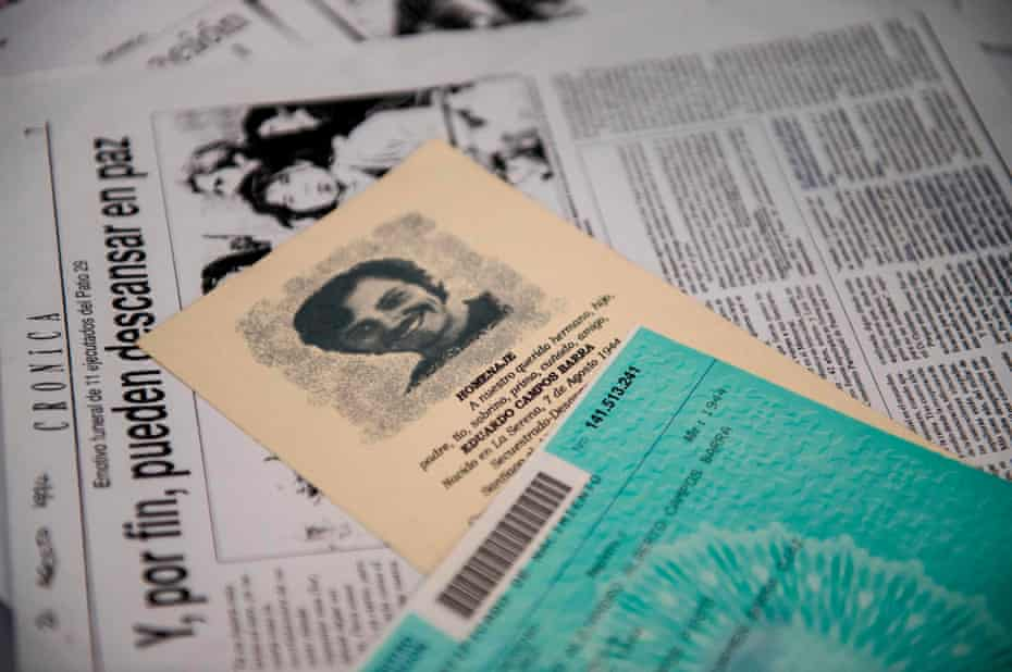 Historical documents relating to the disappearance of Eduardo Campos during the 1973-1990 military dictatorship