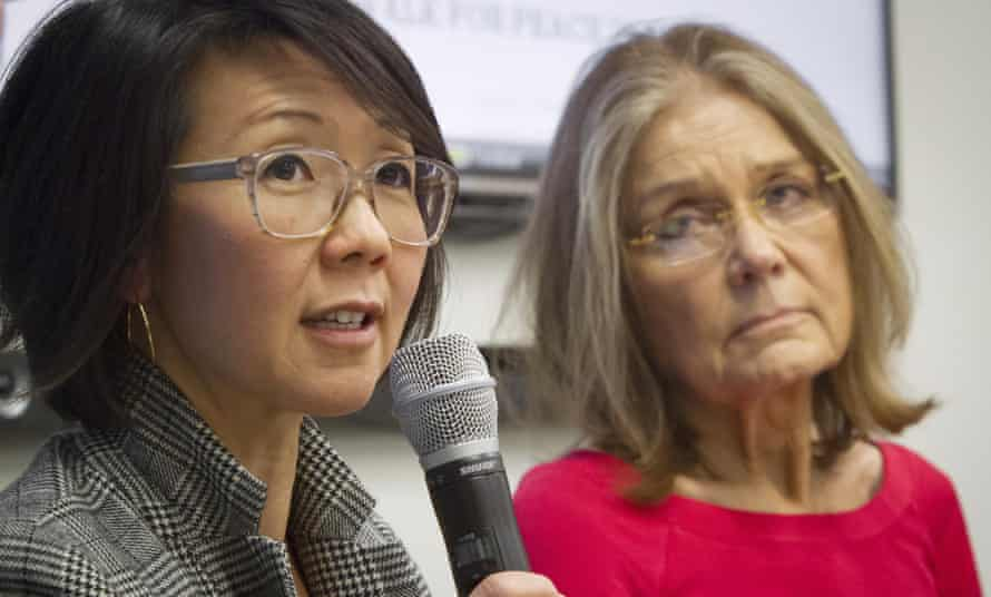 WomenCrossDMZ.org Gloria Steinem and Christine Ahn