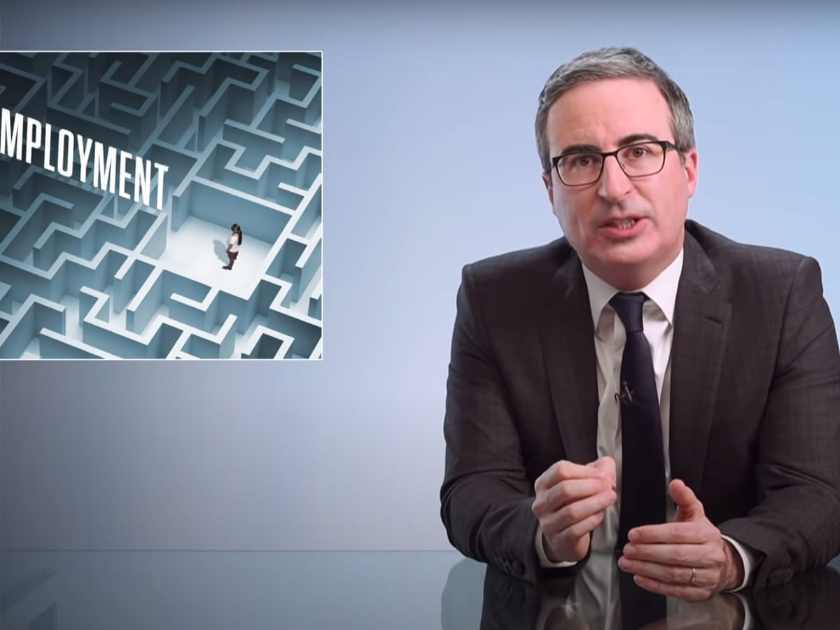 john oliver us unemployment chaos is