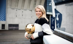 Ada Hegerberg on winning the Ballon d'Or: 'It's important to show what a big step forward this is for women's football.'