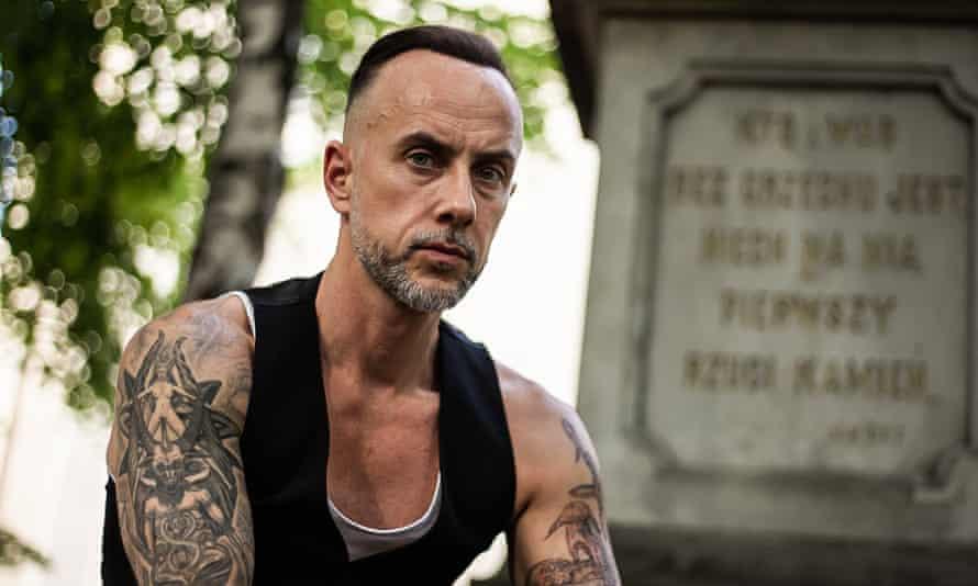 Nergal, real name Adam Darski, frontman of Polish metal band Behemoth.