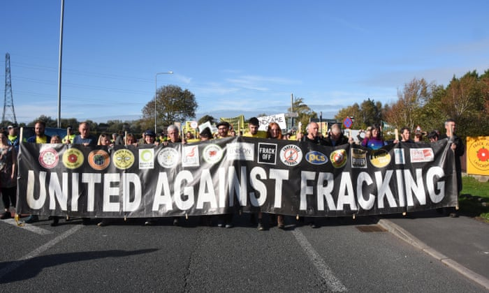 Minor Earthquakes Emerge As Major Threat To Uk Fracking Environment The Guardian