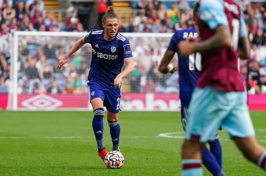 Leeds full-back Luke Ayling is top of the progressive passing stats.