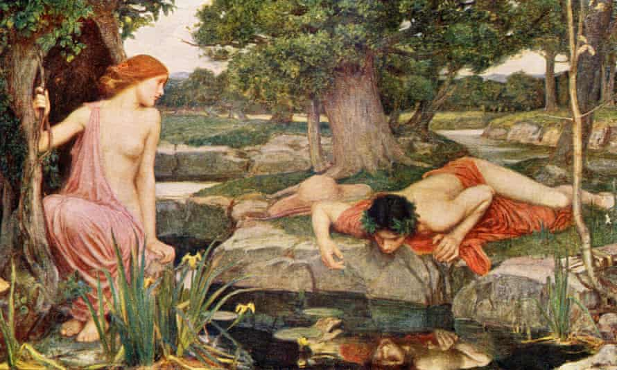 Echo and Narcissus, by JW Waterhouse.