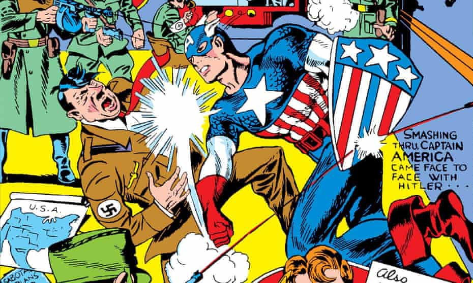 Captain American #1.jpg Captain America, Issue 1. March 1941, Marvel Comics