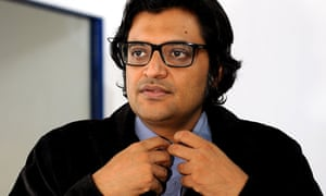 Arnab Goswami, operator of the right-wing Republic TV channel