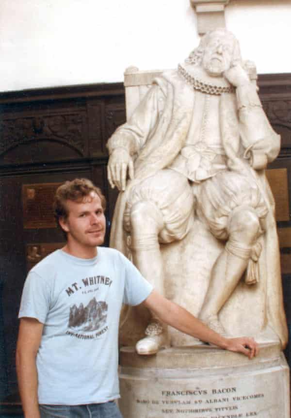Scott Johnson at Cambridge University in 1984