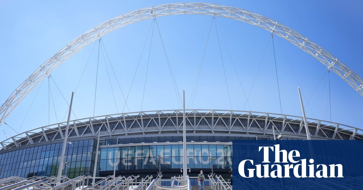 More than 60,000 fans to be allowed at Wembley for Euro 2020 semis and final