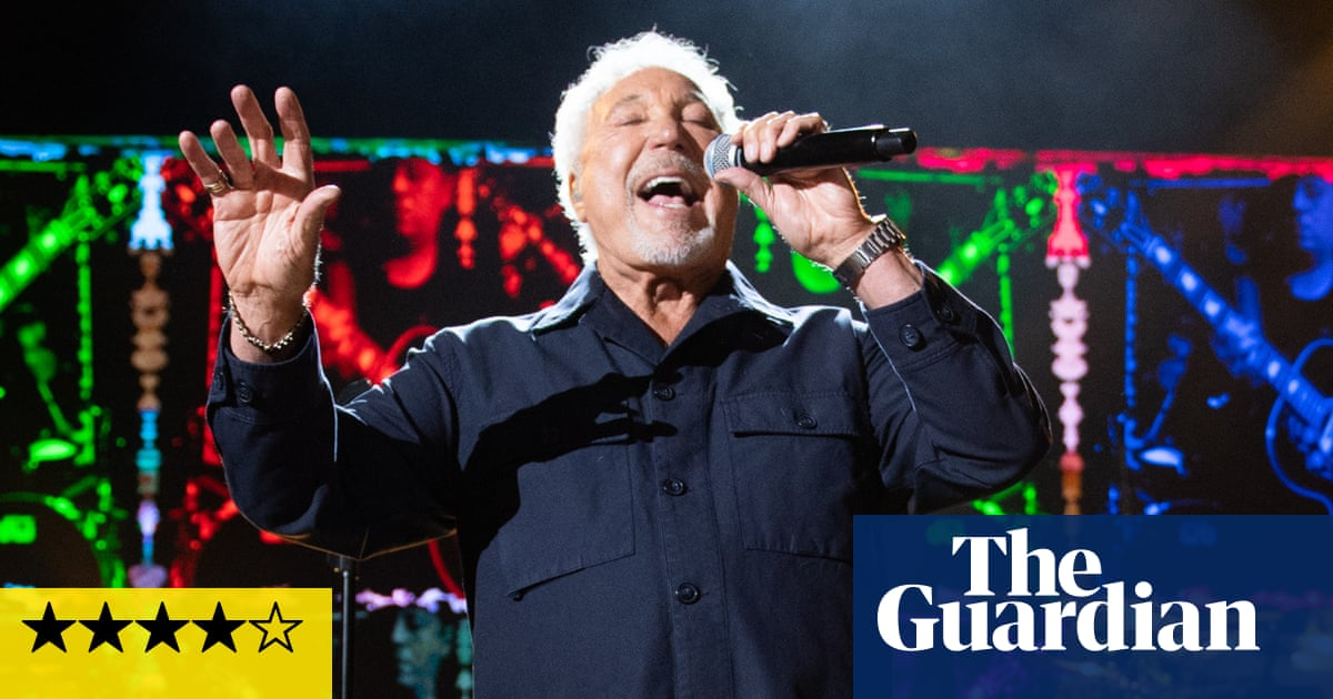 Tom Jones review – still displaying stunning prowess at 81
