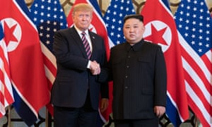 Donald Trump and Kim Jong-un meet in Hanoi