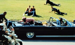 The assassination of JF Kennedy, as depicted in Oliver Stone's 1991 film.