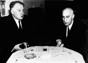 Anatoly Lavrentiev and Mohammad Mosaddeq